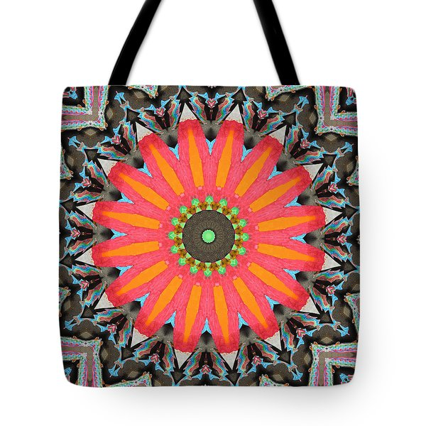Tote Bag featuring the photograph Salmon Fest by I'ina Van Lawick