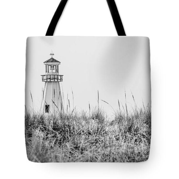 New Buffalo Lighthouse In Southwestern Michigan Tote Bag