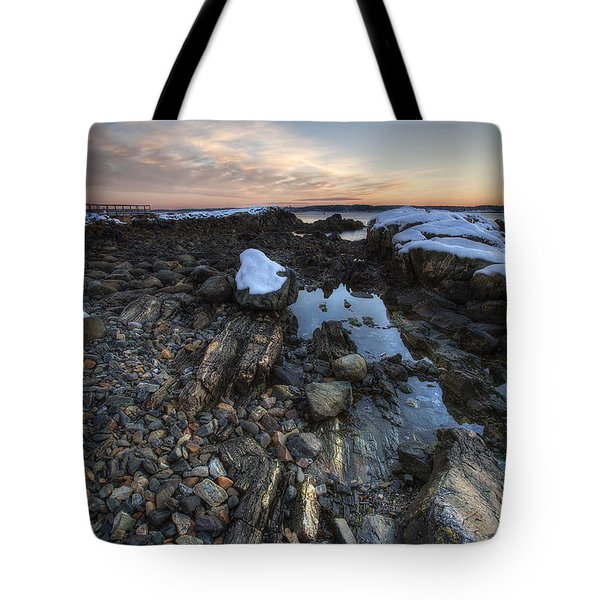 New Castle Dawn Tote Bag by Eric Gendron