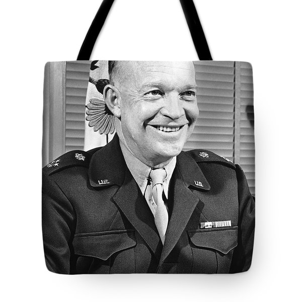 New Chief Of Staff Eisenhower Tote Bag by Underwood Archives