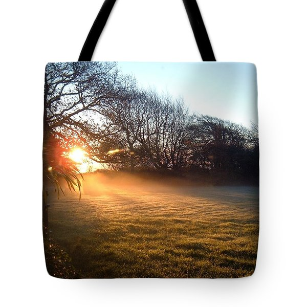 New Dawn Fades Tote Bag by Richard Brookes