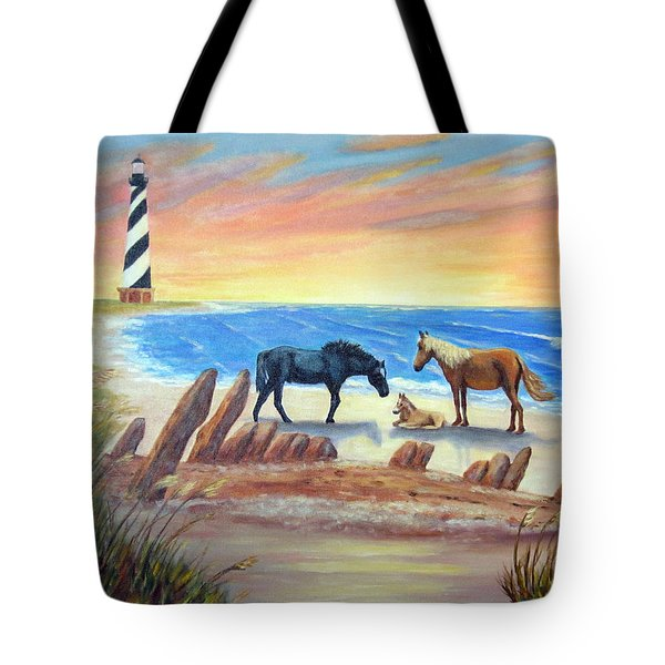New Day - Hatteras Tote Bag