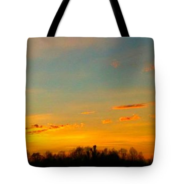 New Day Tote Bag by Linda Bailey