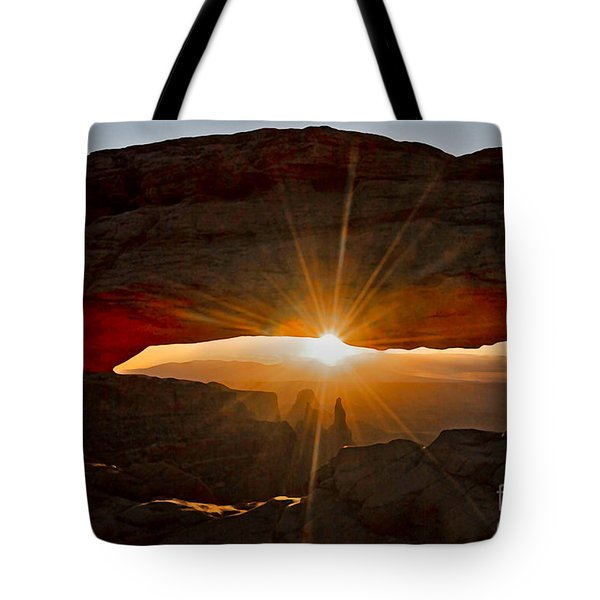 Tote Bag featuring the photograph New Day by Mae Wertz