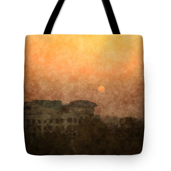 New Delhi Sunset Tote Bag