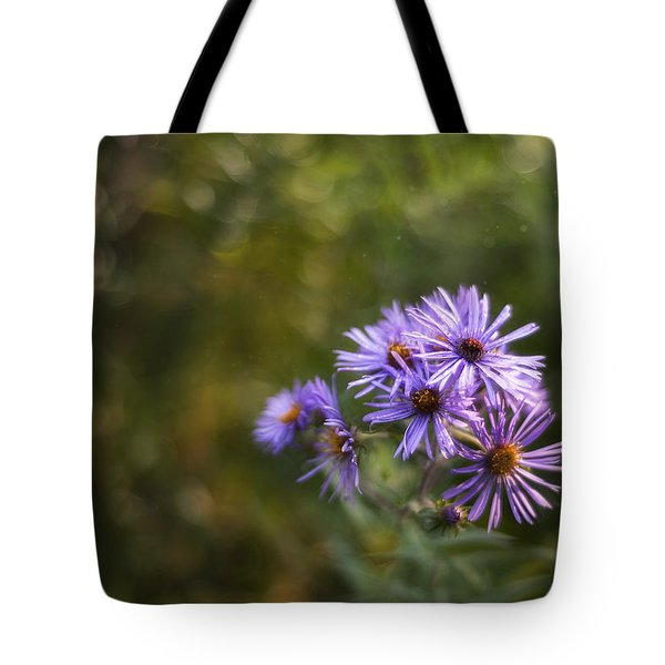 New England Asters Tote Bag