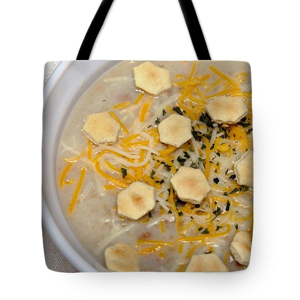 New England Clam Chowder Tote Bag