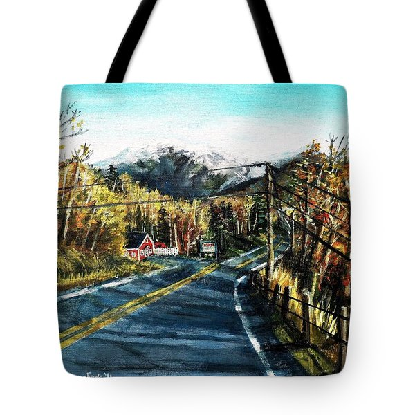 New England Drive Tote Bag by Shana Rowe Jackson