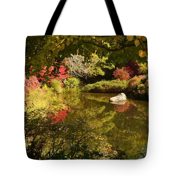 New England Fall Colors Tote Bag