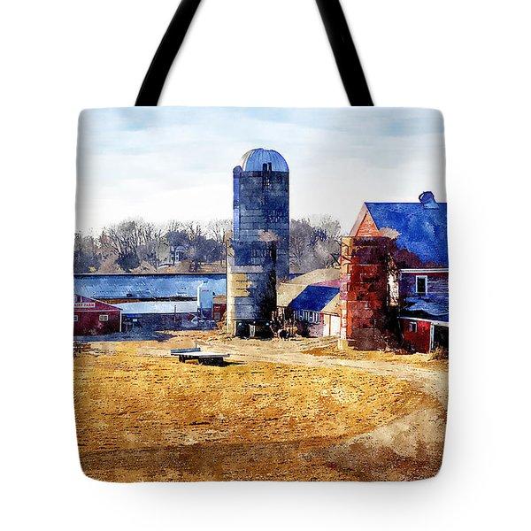 New England Farm 2 Tote Bag