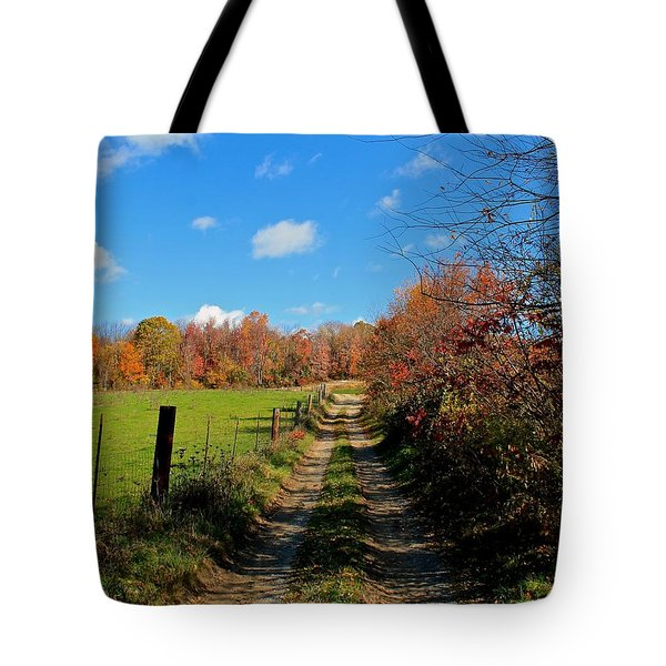 New England Farm Rota Springs Tote Bag