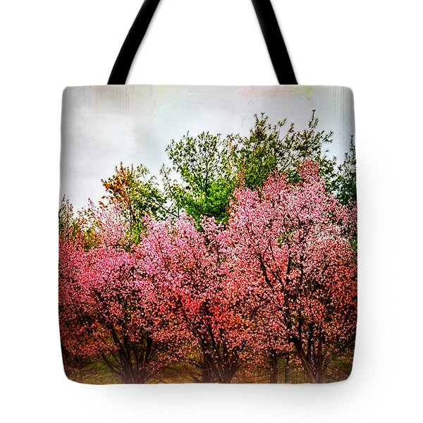 New England Spring Tote Bag