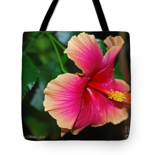 New Every Morning - Hibiscus Tote Bag