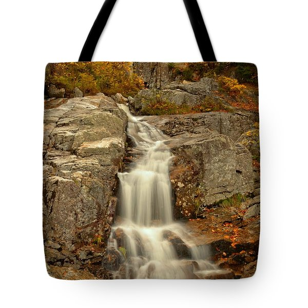 New Hampshire Flume Cascade Tote Bag