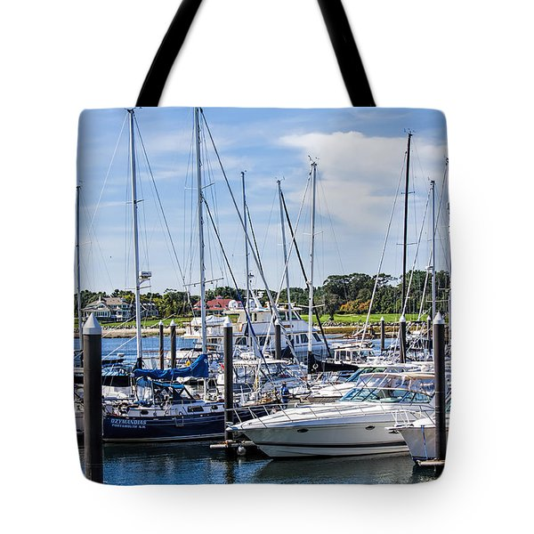 New Hampshire Marina Tote Bag