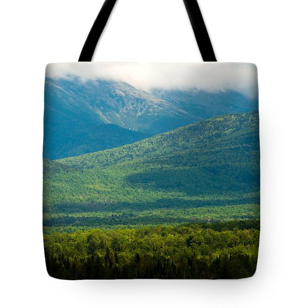 New Hampshire Mountainscape Tote Bag