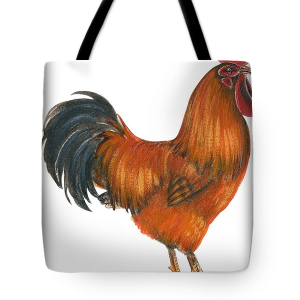 New Hampshire Rooster  Tote Bag by Anonymous