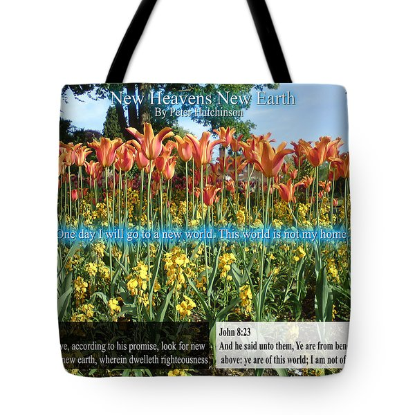 New Heavens New Earth Tote Bag