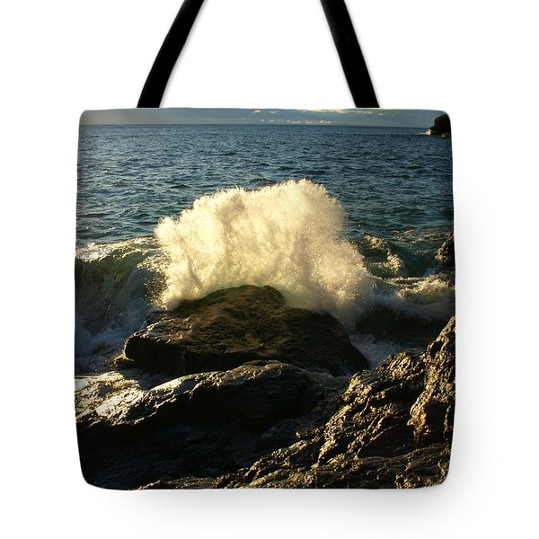 Tote Bag featuring the photograph New Heights by James Peterson