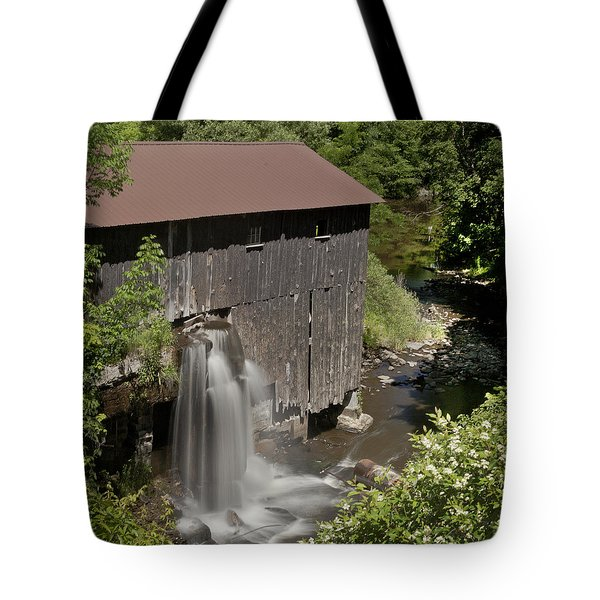 New Hope Mills  Tote Bag by Richard Engelbrecht