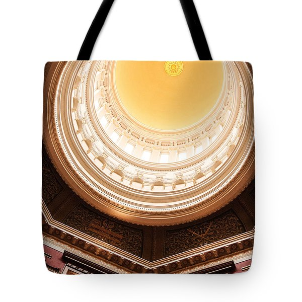 New Jersey Statehouse Dome Tote Bag