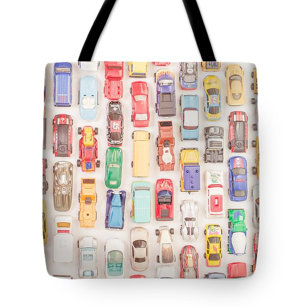 New Jersey Traffic Jam Tote Bag by Edward Fielding