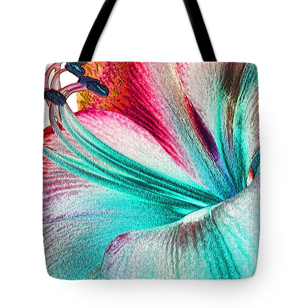 Tote Bag featuring the digital art New Kid In Town by Margie Chapman