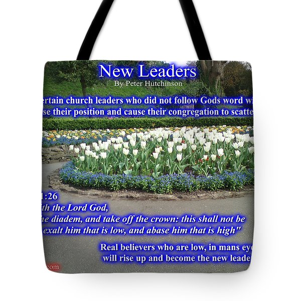 New Leaders Tote Bag
