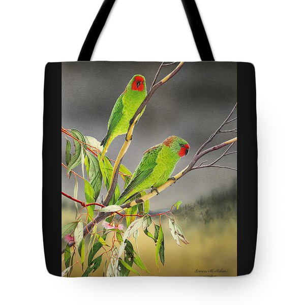 New Life - Little Lorikeets Tote Bag