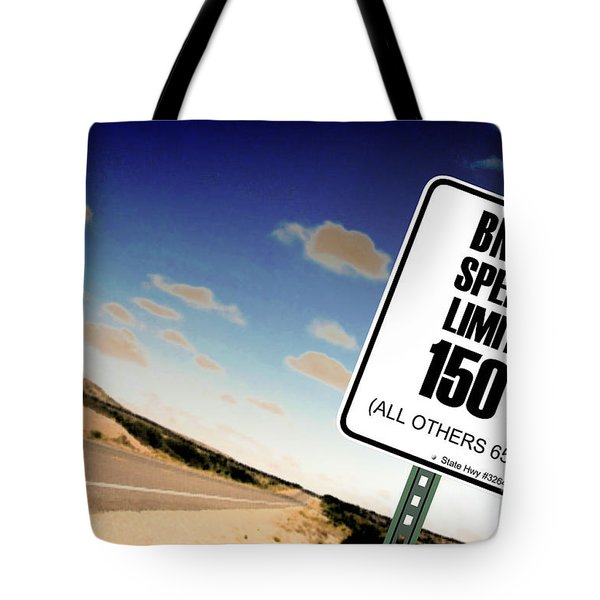 New Limits  Tote Bag by David Jackson