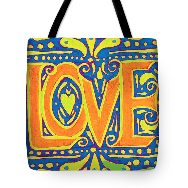Tote Bag featuring the painting New Love  by Nada Meeks