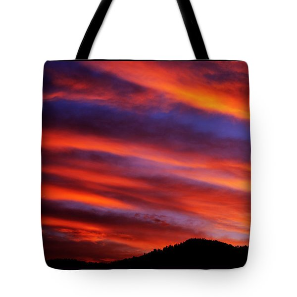 New Mexican Sunrise Tote Bag