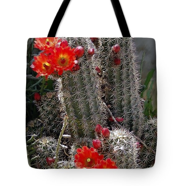 New Mexico Cactus Tote Bag