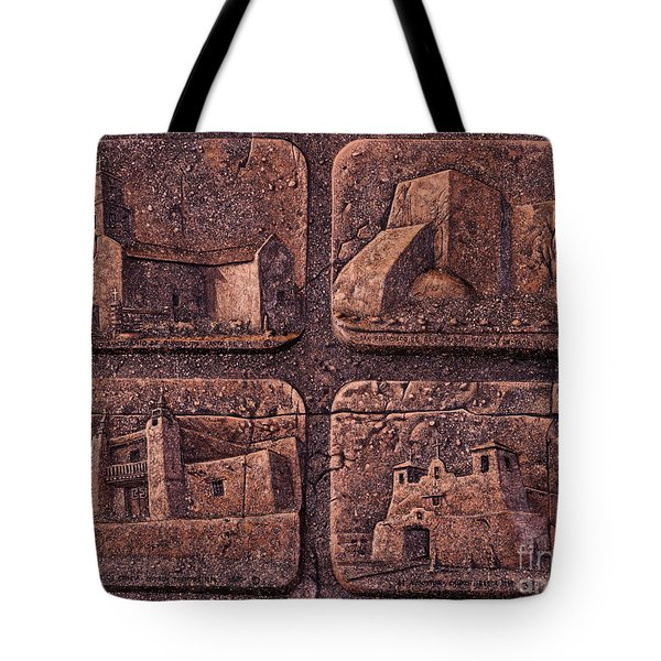 New Mexico Churches Tote Bag