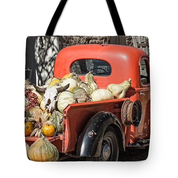 New Mexico Fall Harvest Truck Tote Bag by Steven Bateson