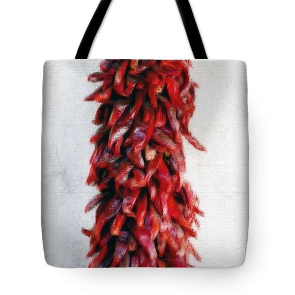New Mexico Red Chili Art Tote Bag