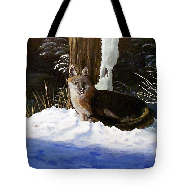 New Mexico Swift Fox Tote Bag by Sheri Keith