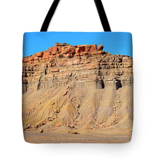 New Mexico Topography Tote Bag