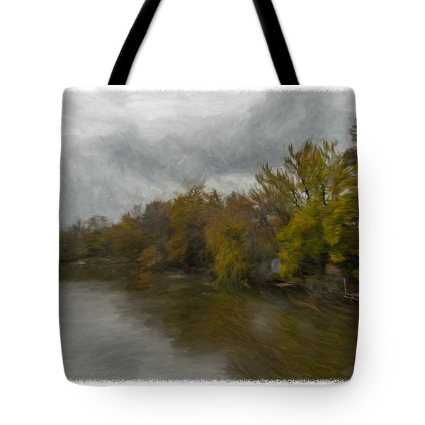 New Milford By Water Side Tote Bag
