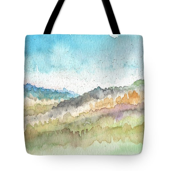 New Morning Tote Bag by Linda Woods