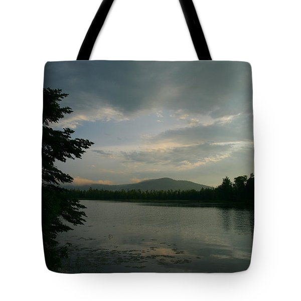 New Morning On Lake Umbagog  Tote Bag by Neal Eslinger