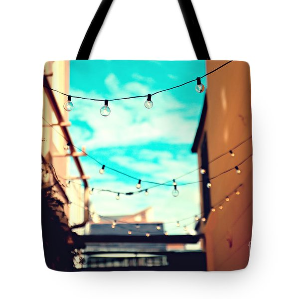 Tote Bag featuring the photograph New Orleans Alley by Sylvia Cook