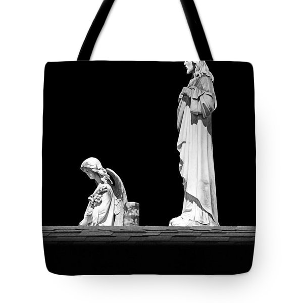 New Orleans Cemeteries Worth A Stop Tote Bag by Christine Till