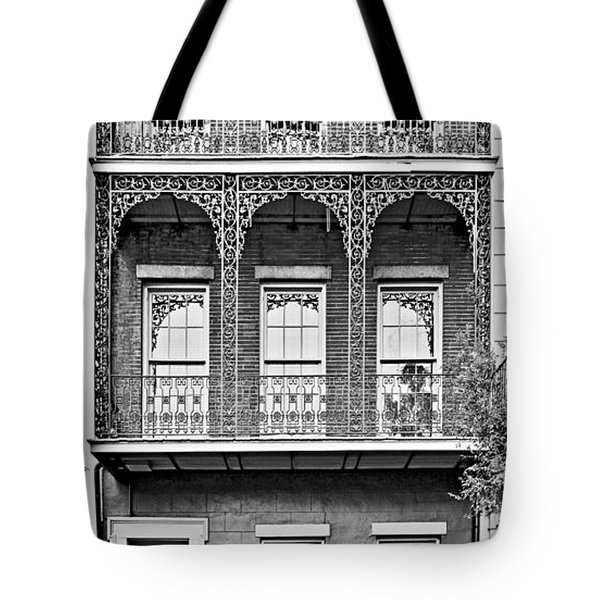 New Orleans - City Of Iron Lace Tote Bag by Christine Till
