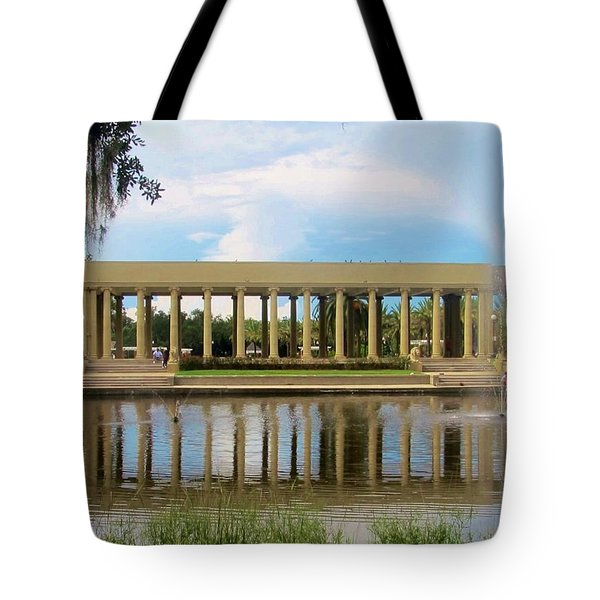New Orleans City Park - Peristyle Tote Bag by Deborah Lacoste