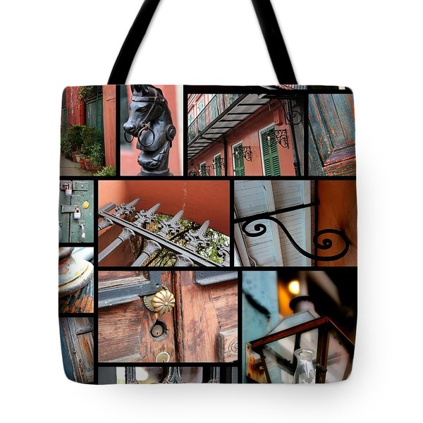 New Orleans Collage 2 Tote Bag by Carol Groenen