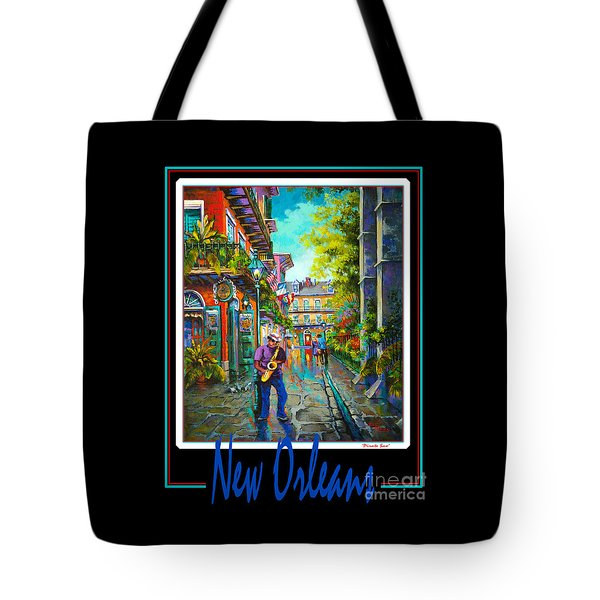 New Orleans Tote Bag by Dianne Parks