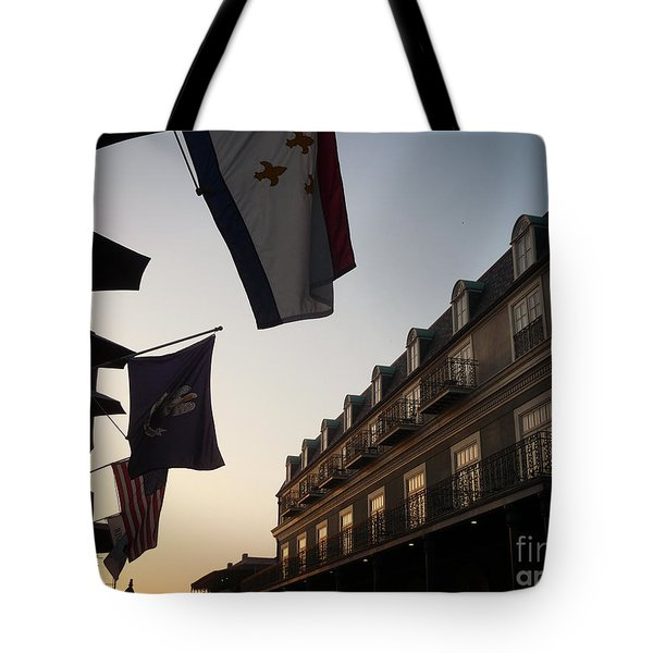 Evening In New Orleans Tote Bag by Valerie Reeves