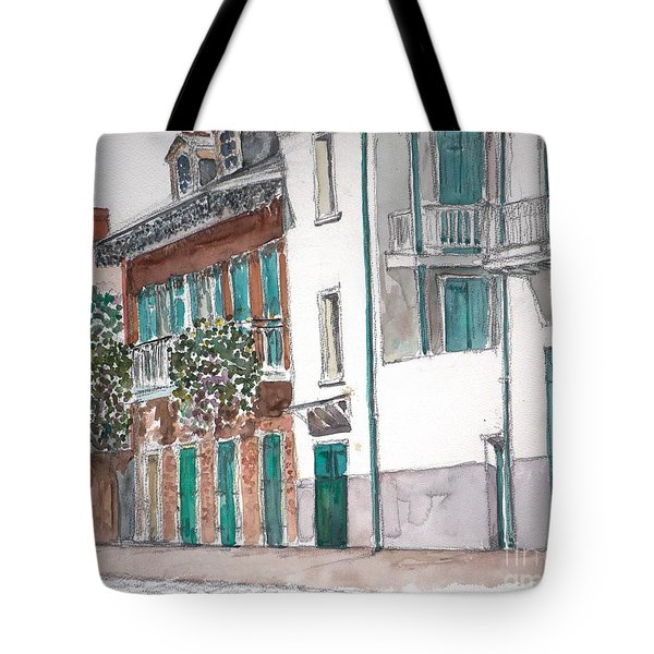 New Orleans Gov. Nichols And Royal St Tote Bag by Anthony Butera