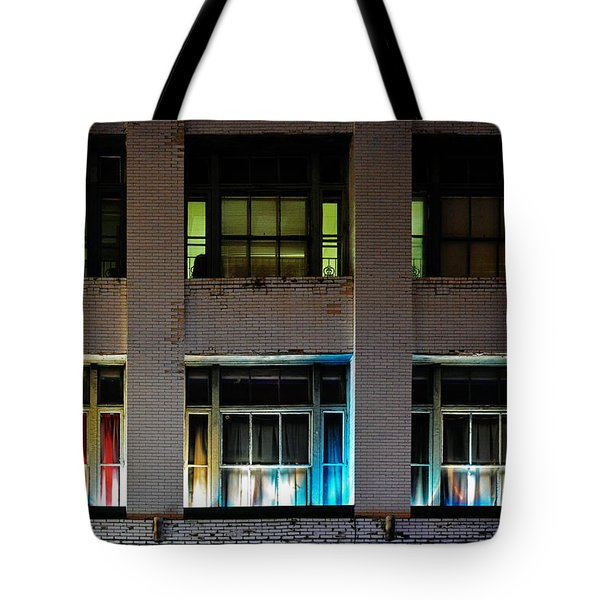 New Orleans Late Night Tote Bag by Christine Till